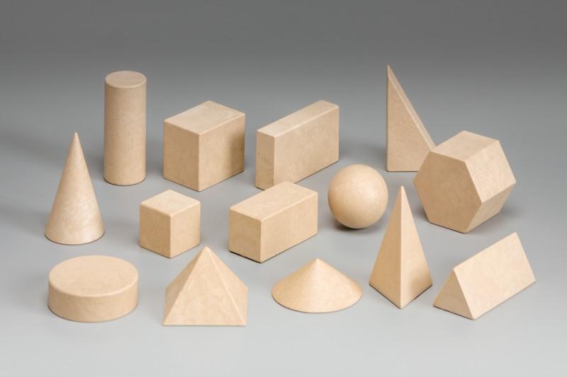 Geometrical Shape Set. (14 pcs)