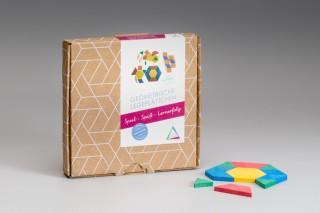 Pattern Blocks. (40 pcs)