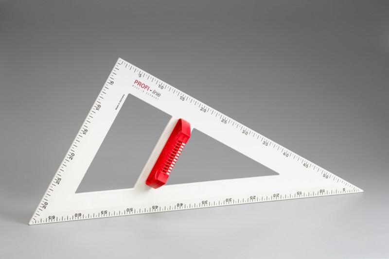 magnetic PROFI - Set square 60° 60 cm