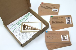 Task cards. for Tower numbers (french)