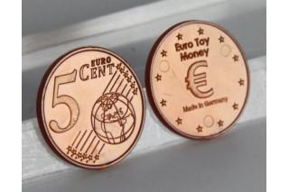 5 Euro - Cent. 100 pcs