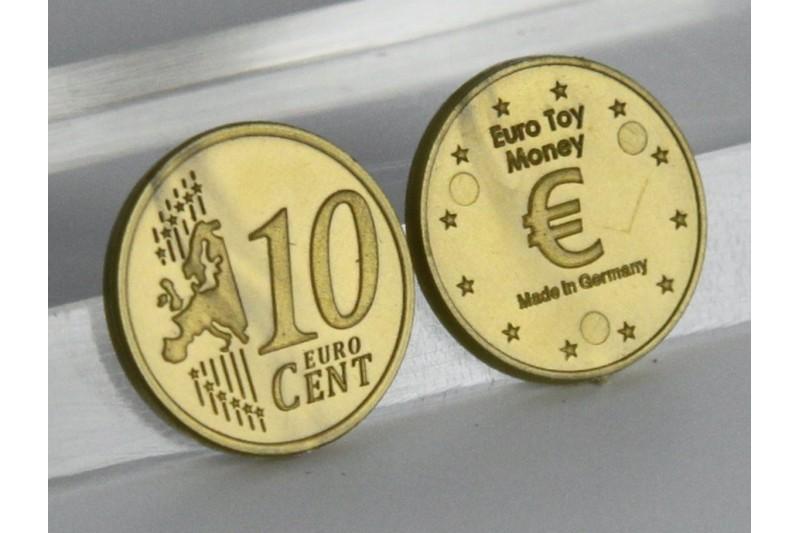 10 Euro - Cent. 100 pcs
