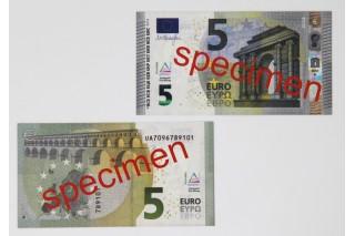 5 Euro - notes. 100 pcs