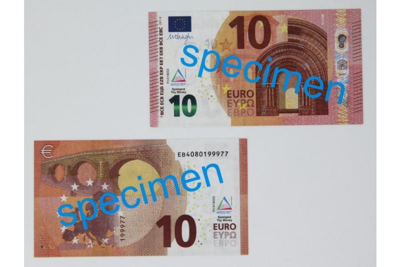 10 Euro - notes. 100 pcs