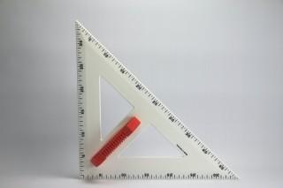 PROFI - Set square  45° 50 cm
