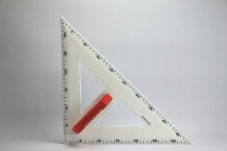 magnetic PROFI - Set square 45° 50 cm