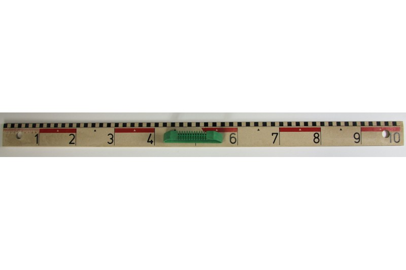 magnetic Ruler 100cm. made of RE-Wood®