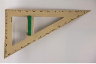 RE-Wood® Set Square 60° 60 cm