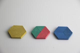 Pattern blocks. (250 pcs)