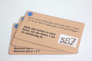 Task cards. for tower numbers. (german)