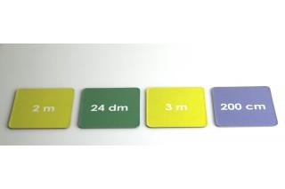 Math game - units of length